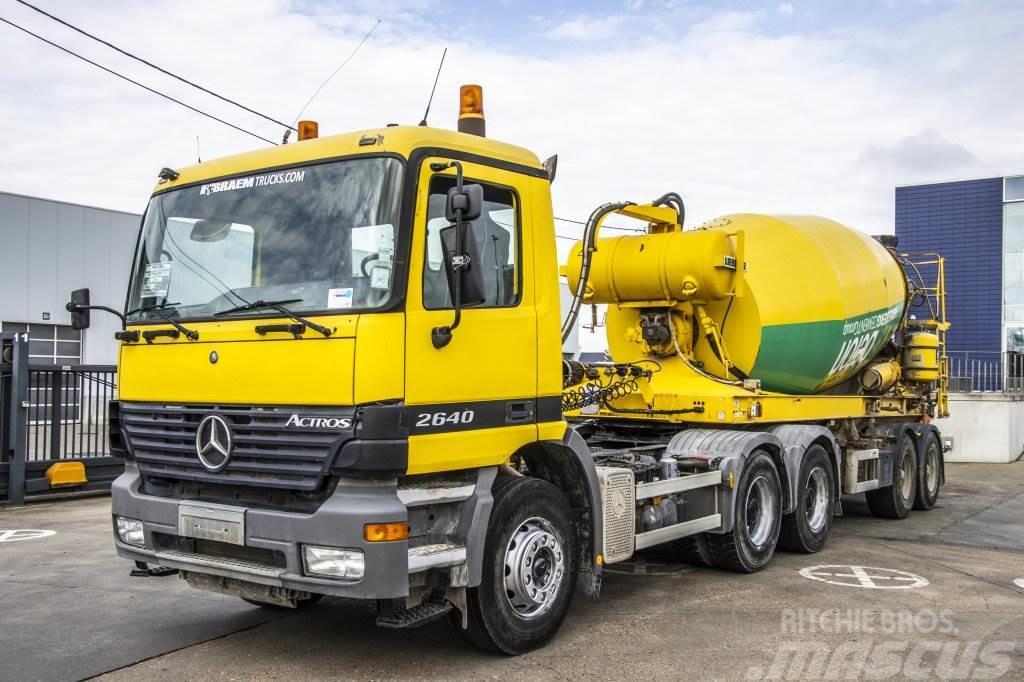 Liebherr BETON MIXER HTM 1204 - 12M³