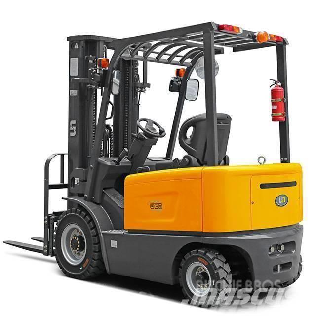 UN Forklift FB20 2Ton 4-Wheel Electric Forklift ZAPI 48V/620AH