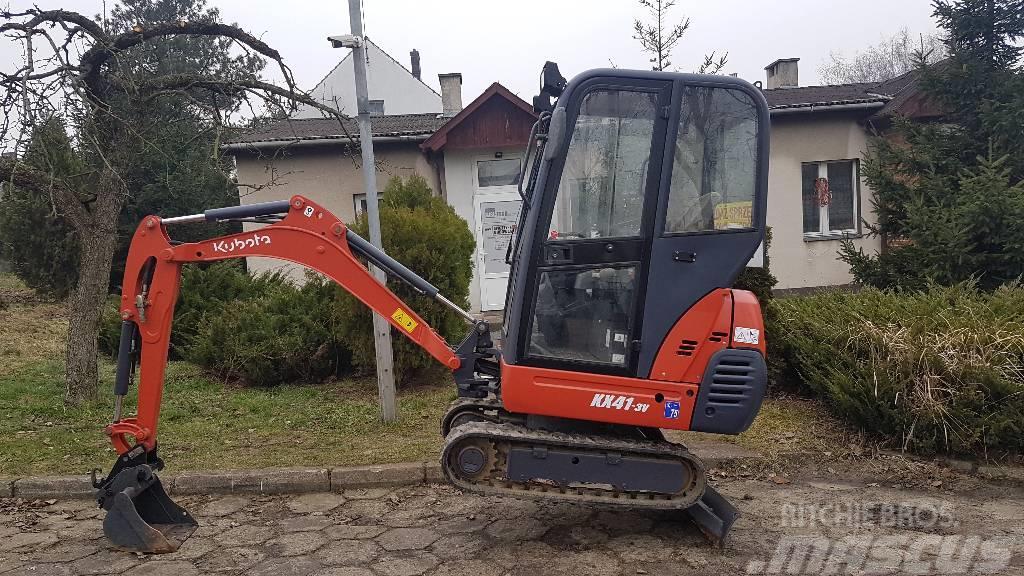 kubota kx 41 3 mini excavators. Black Bedroom Furniture Sets. Home Design Ideas