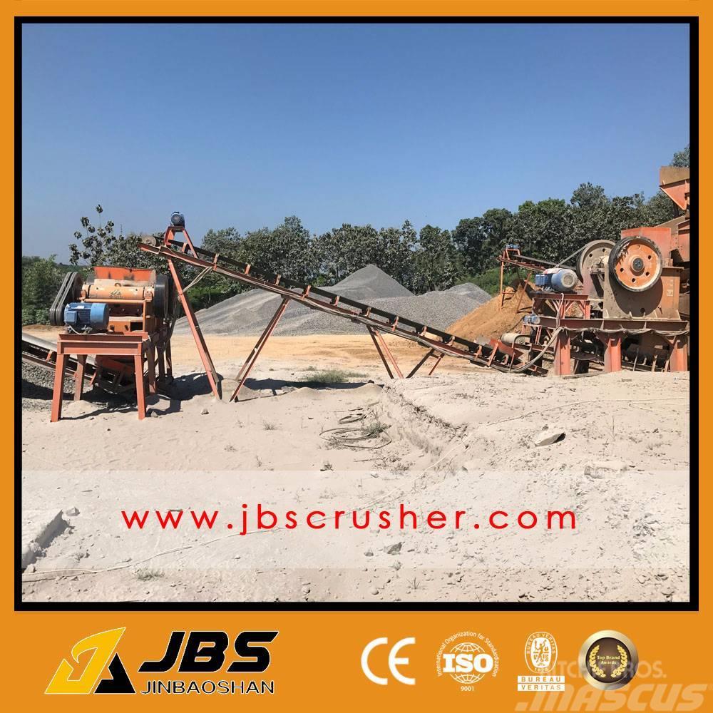 JBS 80tph construction aggregate crushing line