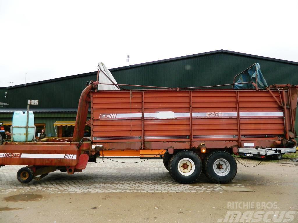 jf es35 preis ladewagen gebraucht kaufen und verkaufen bei mascus deutschland. Black Bedroom Furniture Sets. Home Design Ideas