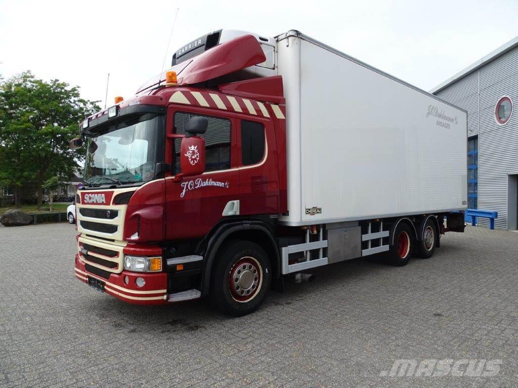 Scania P400 / 6X2 / AUTOMATIC / CHEREAU COOLING BOX WITH