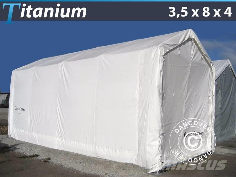 Dancover Boat Shelter 3,5x8x3x4m PVC, Bådtelt