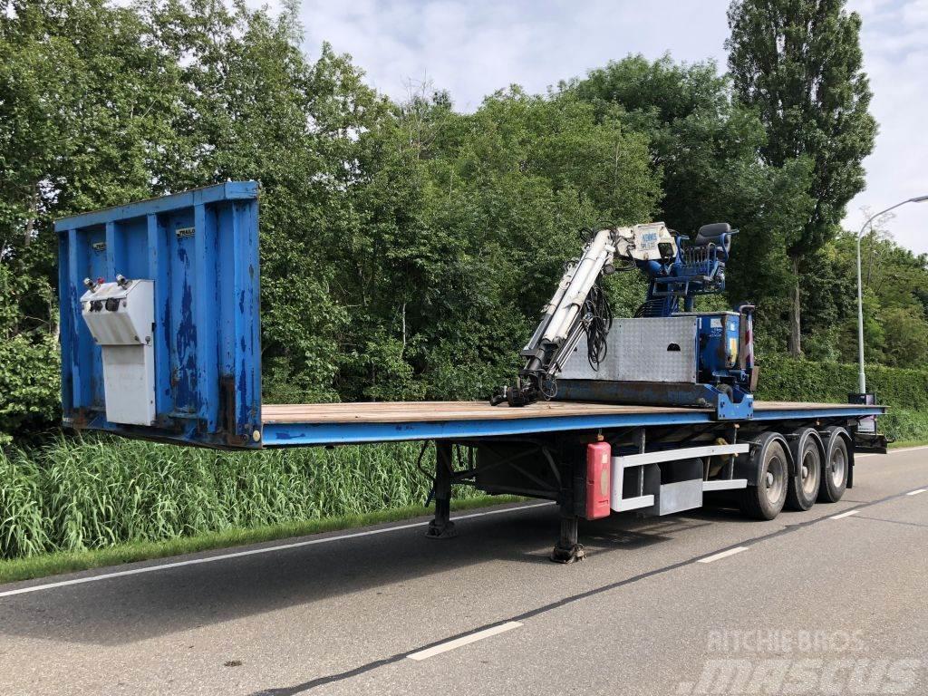 Trailor 3 asser steentrailer + kennis 16R Tonner