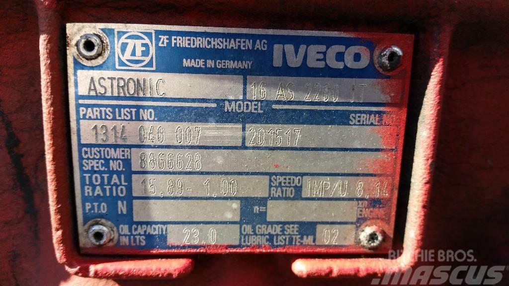 Iveco Astronic 16AS2200IT, Växellådor