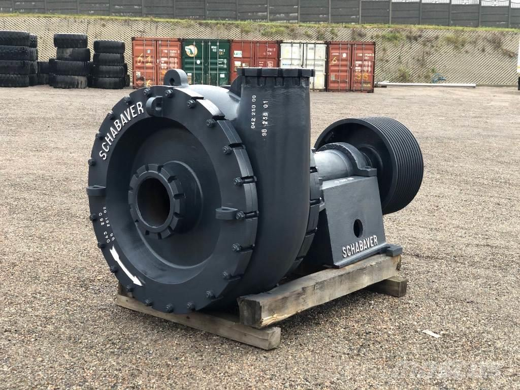 Schabaver pump dradge 250/1000m3/h big drag pumps