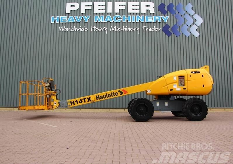 Haulotte H14TX Diesel, 4x4 drive, 14m working Height, Rough