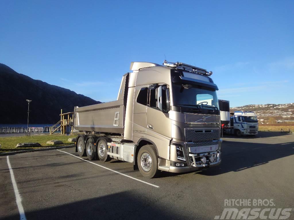 Used Volvo Fh16 750 8x4 Kombibil Tungtrekker Dump Trucks