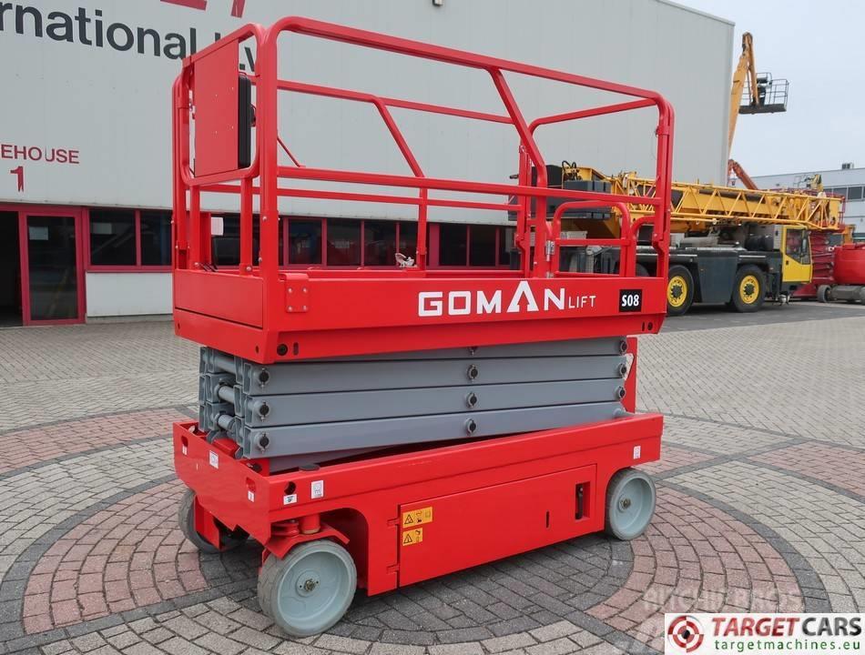 Goman S08 Electric Scissor Work Lift 1000cm Unused