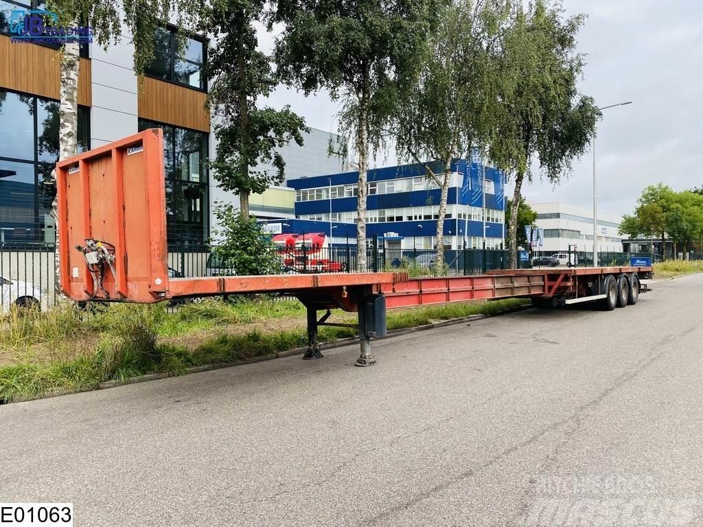 Kaiser open laadbak 7.45 mtr extendable