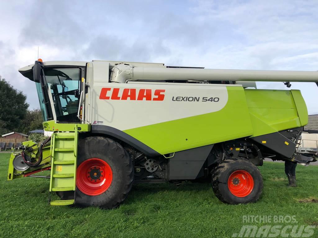 CLAAS Lexion 540 firhjulstræk