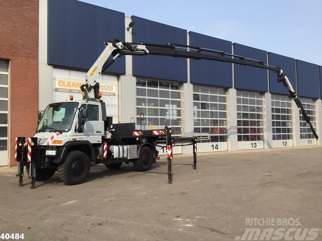 Unimog U 500 L Palfinger 34 ton/meter laadkraan + FLY-JIB