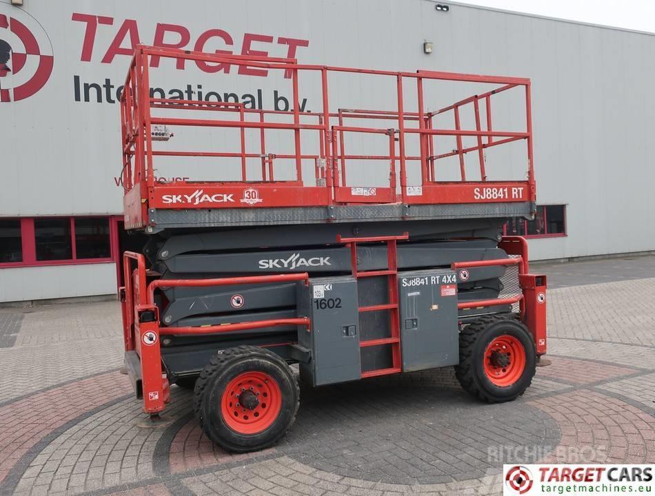 SkyJack SJ8841 Diesel 4x4 Scissor Work Lift 1450cm