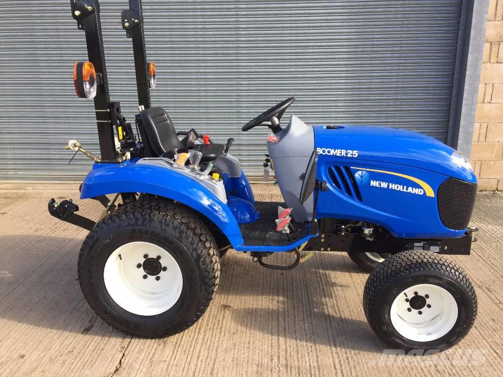 New Compact Tractor : New holland boomer oxford compact tractors price £