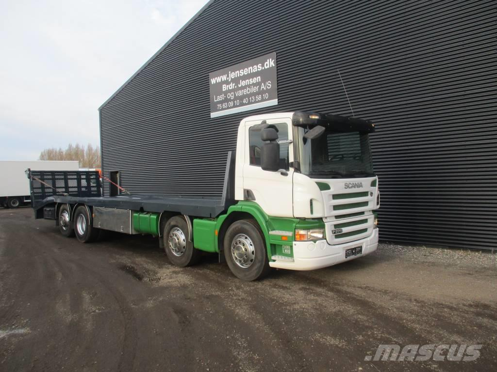 Scania P 270 8X2 Fejeblad