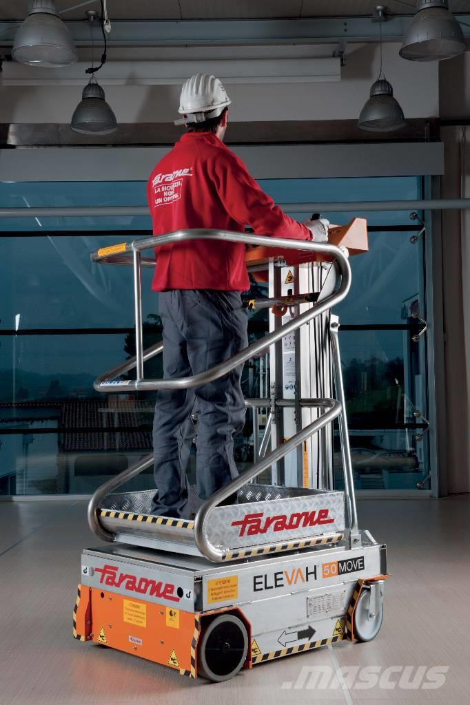 how to move vertical mast lift