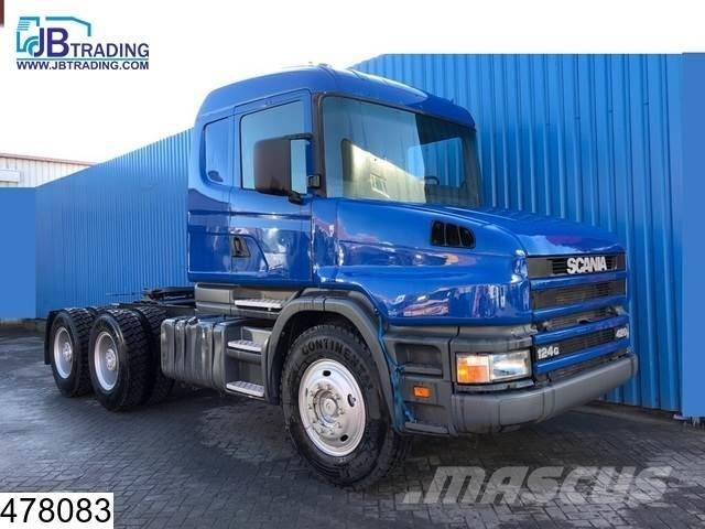 Scania 124 420 6x4, 8 UNITS, Torpedo, Steel suspension, 1