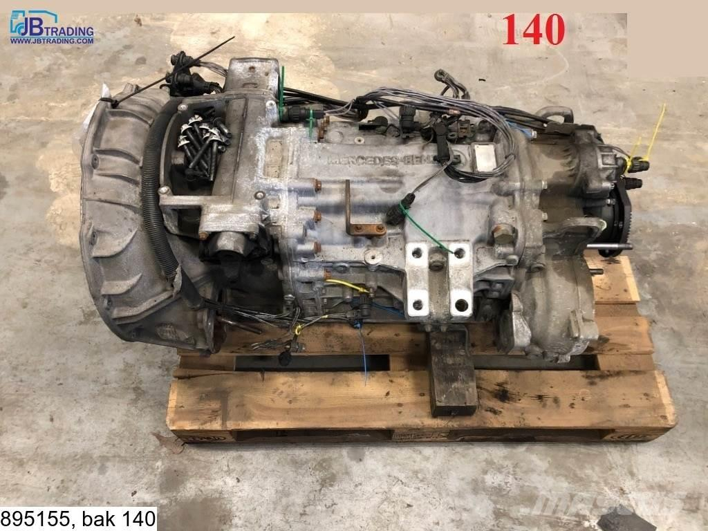 Mercedes-Benz G 221-9, manual, (axor)