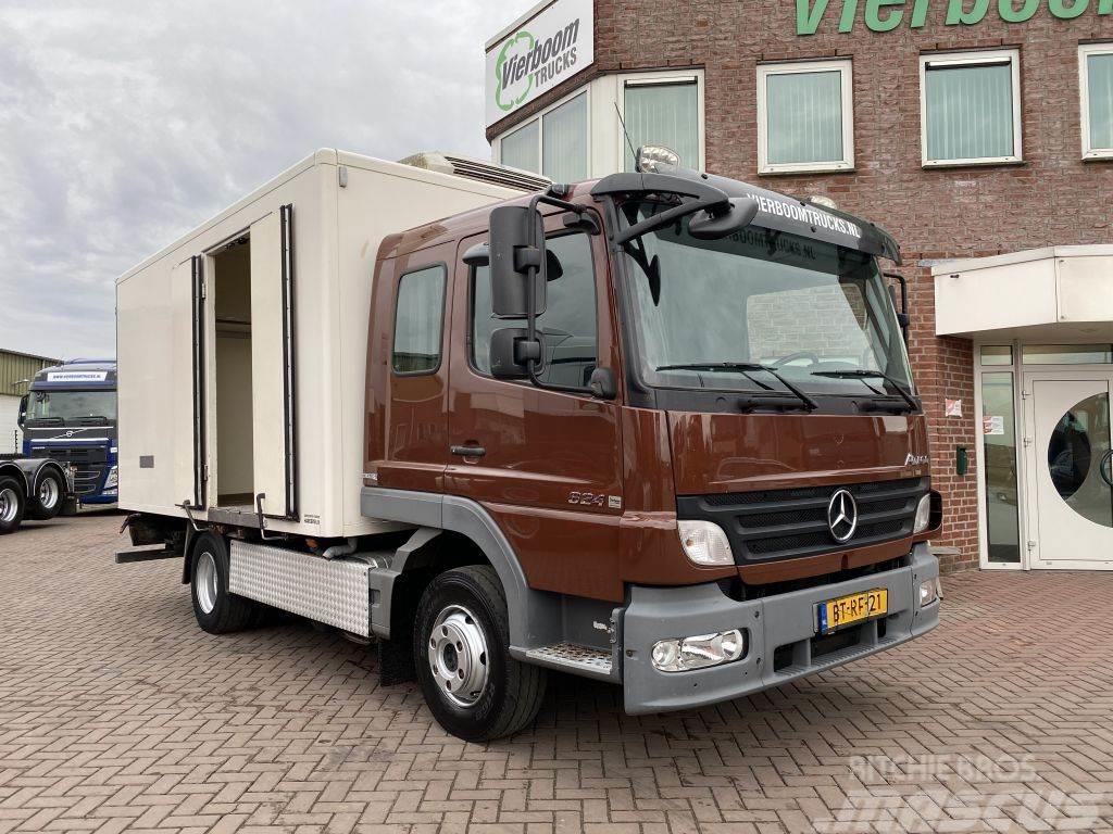 Mercedes-Benz ATEGO 824L KUHLKOFFER 7 PERSONEN EURO5