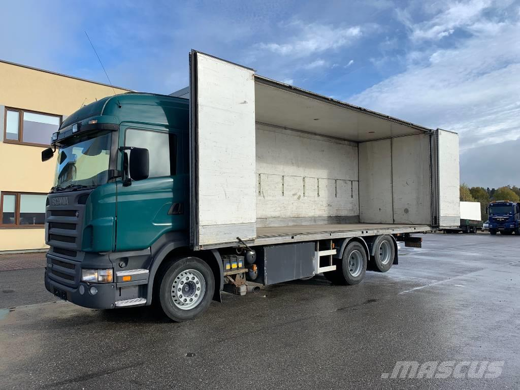 Scania R480 6x2+SIDE OPENING