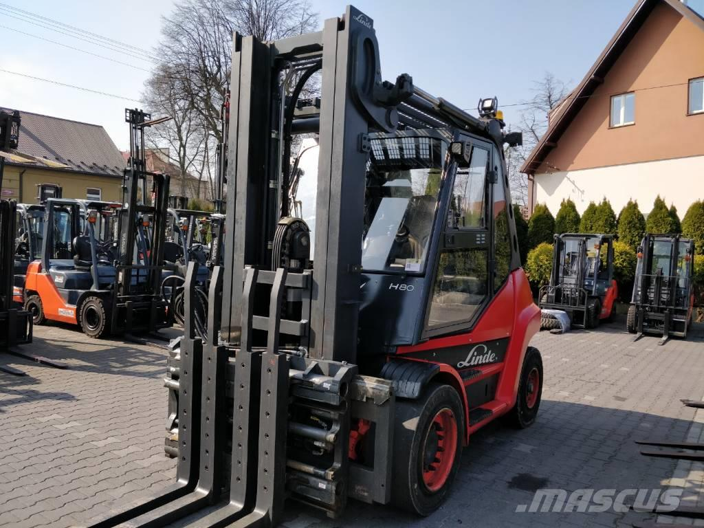 Linde H80T TRIPLEX