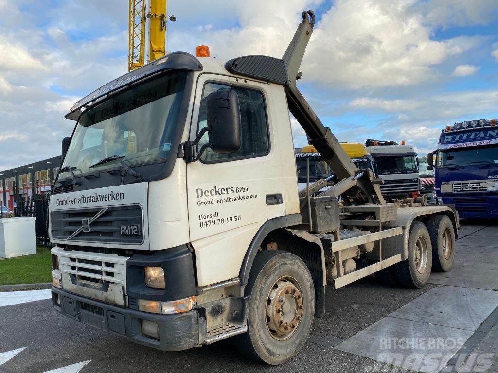 Volvo FM 12-420 6X4 MANUAL FULL STEEL + TECHNAMICS HAAKA