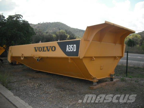 Volvo A35D  complet machine in parts