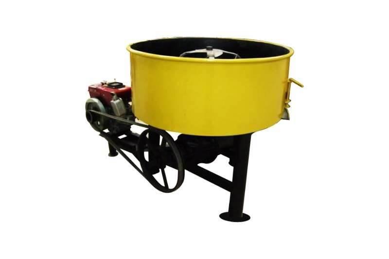 Sino Plant Pan Concrete Mixer Diesel 500L