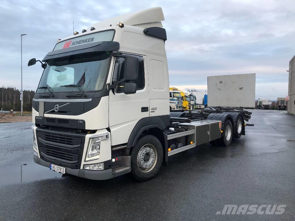 Volvo Volvo FM460, 6x2 kontainerbil med bakløfter
