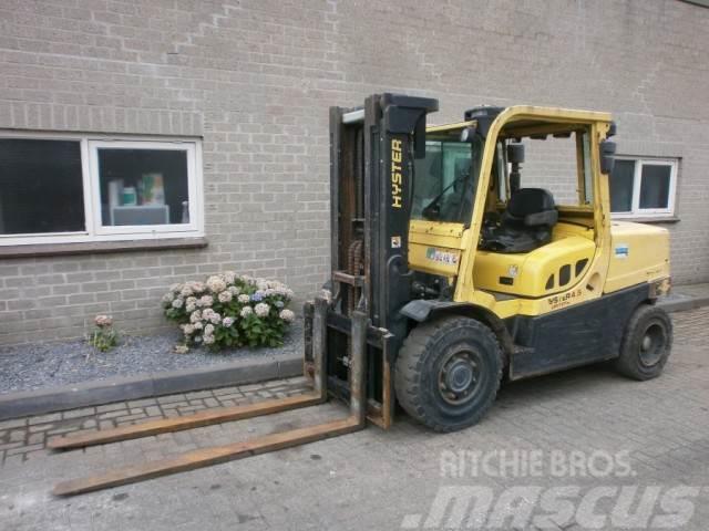 Hyster H 4,5 FORTENS triplo Diesel (BJ 08) Container heft