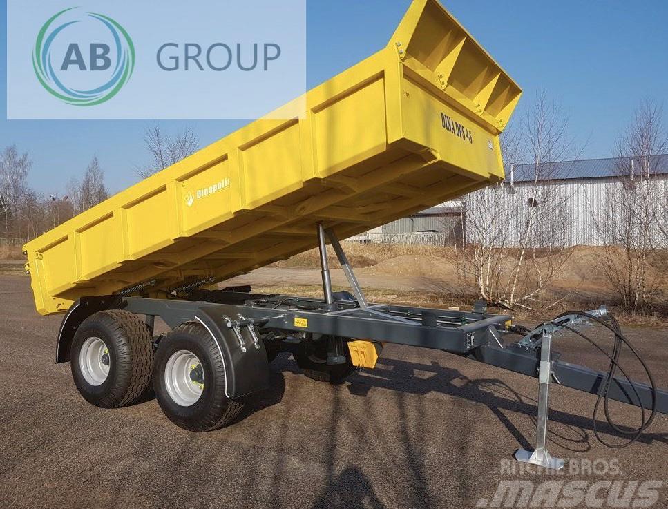 Dinapolis Anhänger 9,5t /Dumper trailer Dina DPS/ Przyczepa/