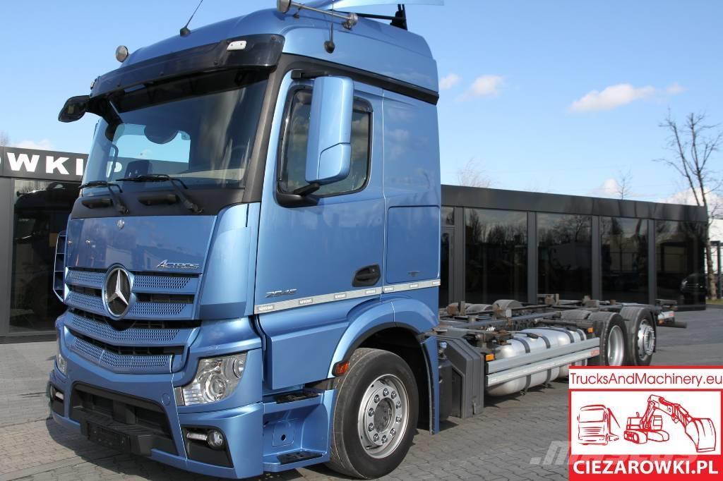 Mercedes-Benz Actros 2545 / E6 / 6×2 / BDF / Low deck / Mega