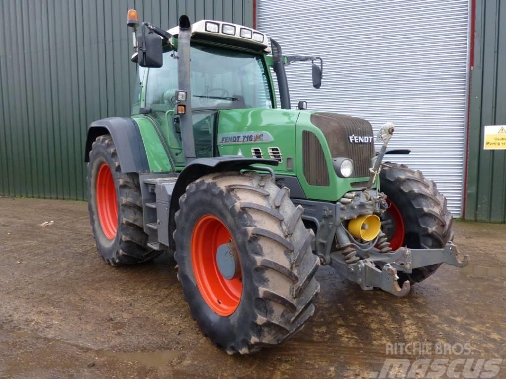 Fendt 716 VARIO TMS, 2006, Traktorer