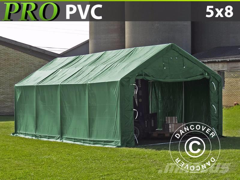 Dancover Storage Shelter 5x8x2x2,9m PVC, Telthal