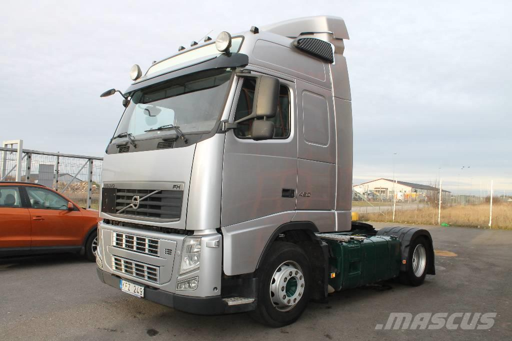 Used Volvo FH 4*2 Euro 5 tractor Units Year: 2010 Price ...