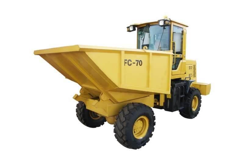Sino Plant 7 Ton 4x4 Dumper with Hydraulic Tip (Closed