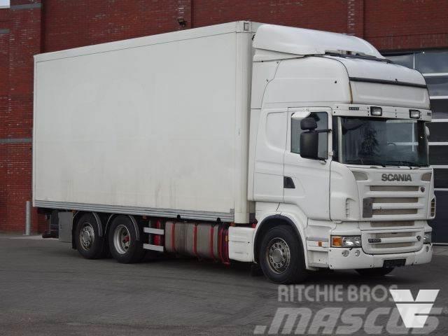 Scania R500 6x2*4 - Ekeri box - Loadlift - Manual - Euro5