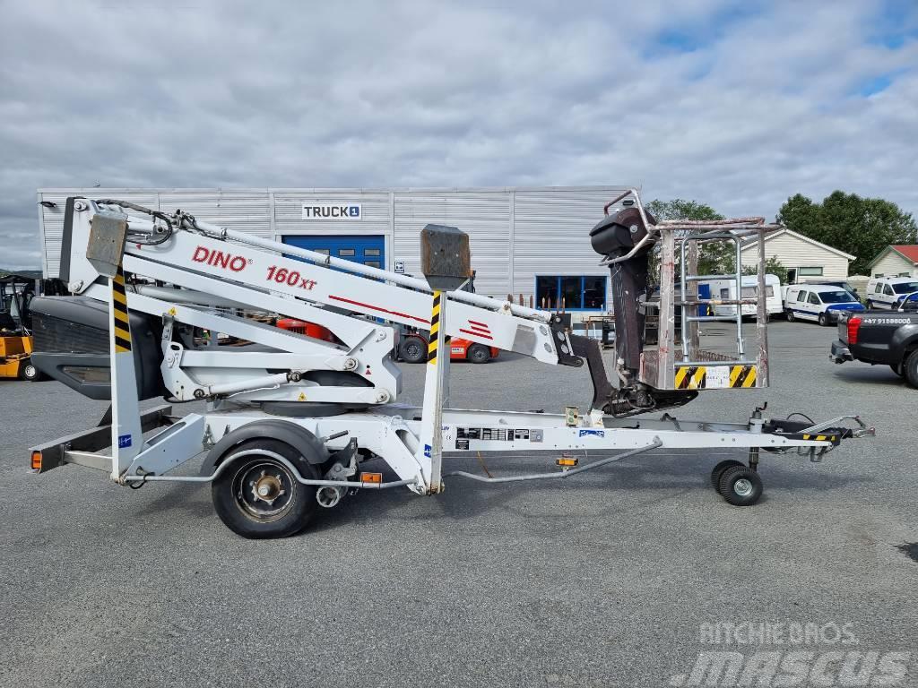 Dino 160 XT tilhengerlift 16 m arb. høyde (SOLGT)