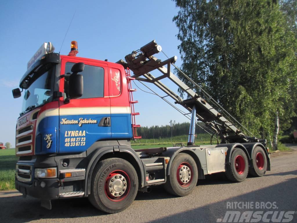 Scania R500 8x4 vaijerilaite,EURO 5,manuaali