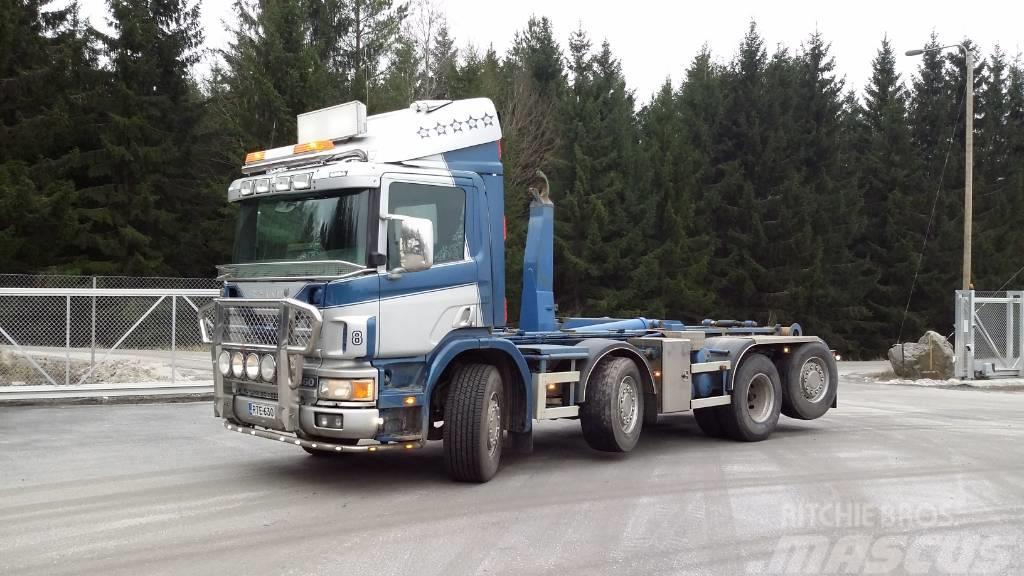 Scania P 124 GB 8x2