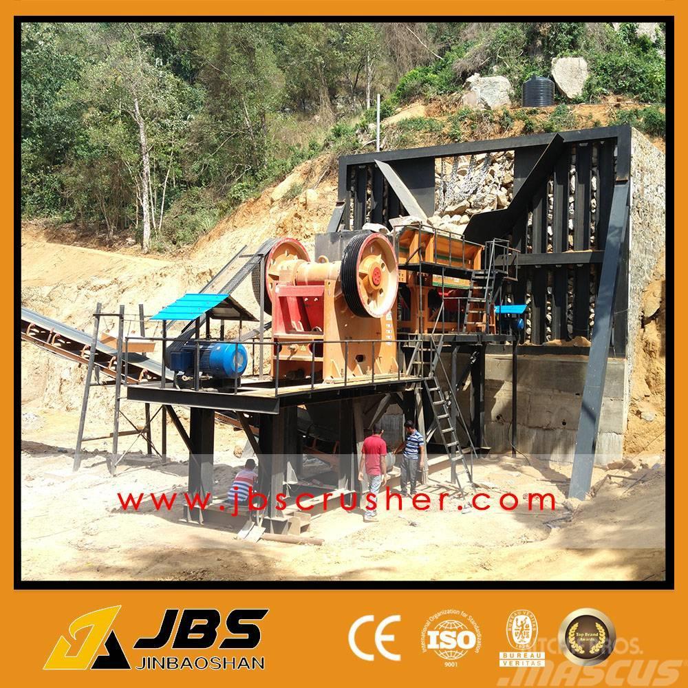 Used Jbs 150tph Granite Crushing And Screning Plant