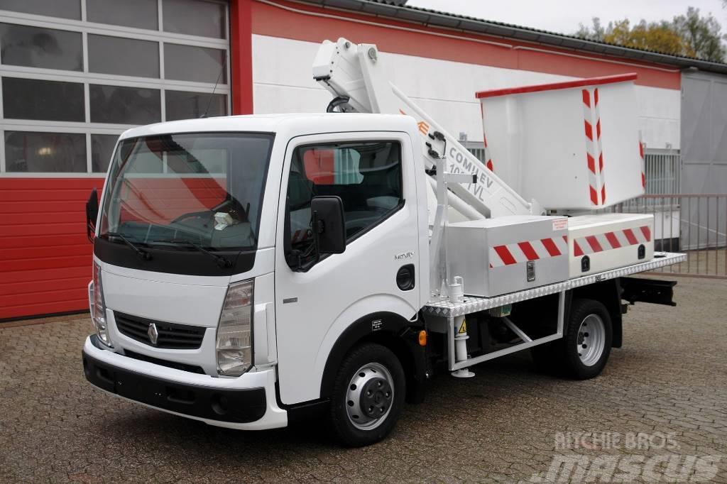 Renault Maxity 110 Arbeitsbühne 10m Korb 200kg TÜV UVV