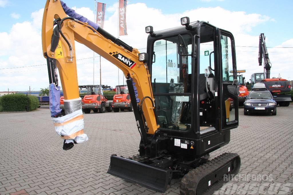 Sany SY 18C , 2017 - Mini excavators < 7t (Mini diggers