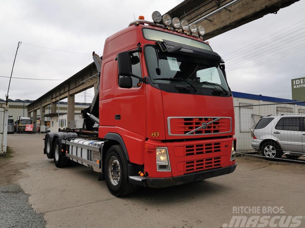 Volvo FH-440 mit HIAB Multilift 20 Tonnen Blatt/Blatt