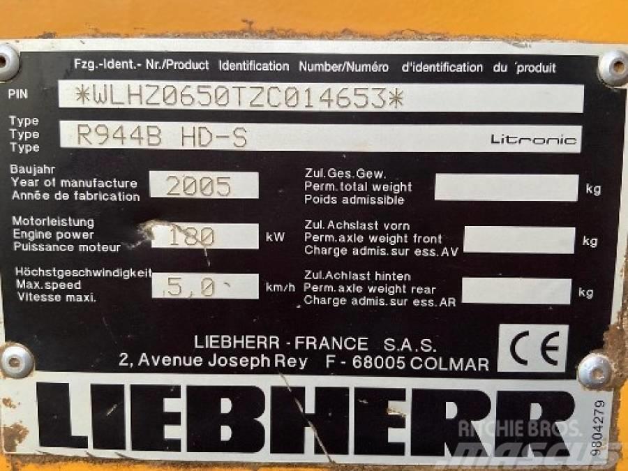 Liebherr R 944 B HD S Litronic