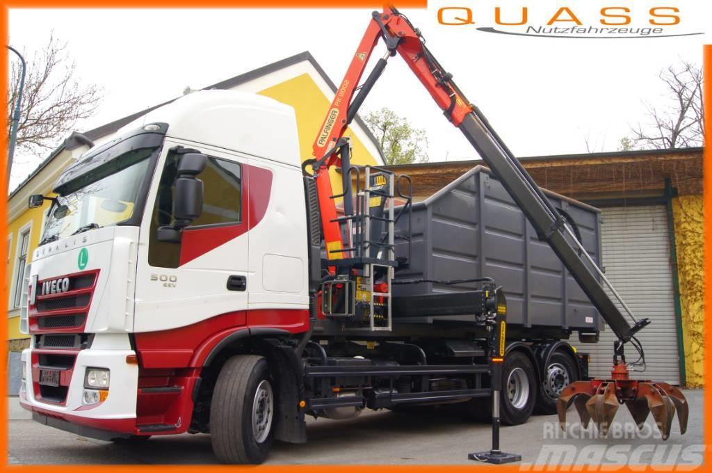 Iveco STRALIS 260S50/ 6x2/ EEV/ TÜV/Schrottkrancontainer