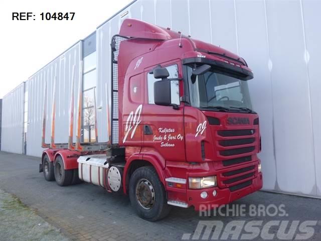 Scania R620 6X4 TIMBER TRUCK EURO 5 FULL STEEL