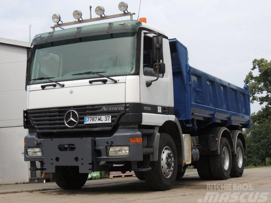 Mercedes-Benz Actros 3335 wywrotka, 2002rok, 6x4, 350KM