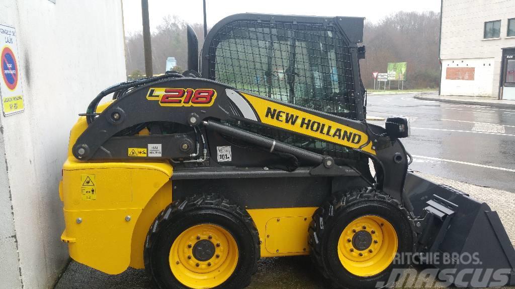 New Holland L218 loader