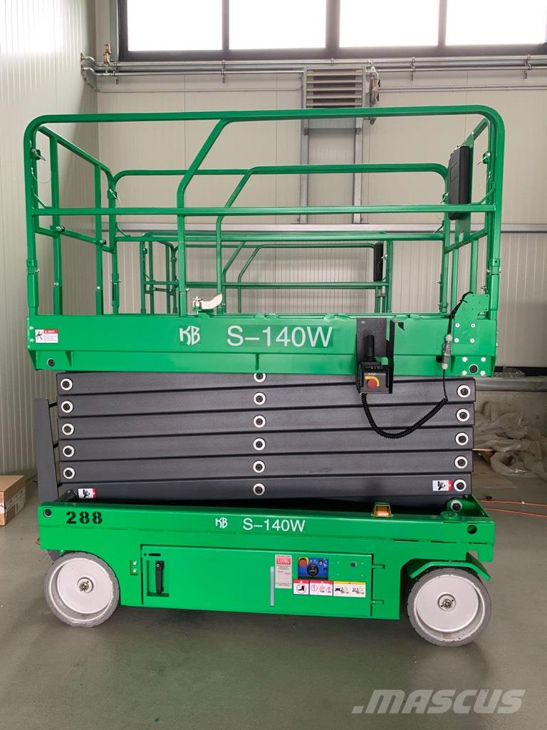 KB-Lift S-140W, NEW 14m electric scissor lift, warranty